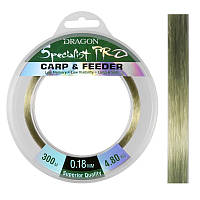 ЛЕСКА DRAGON SPEC.PRO CARP&FEEDER 0.25 мм 300 м