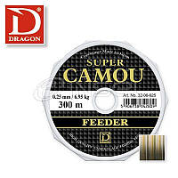 ЛЕСКА DRAGON SUPER CAMOU FEEDER 0,25 мм, 150 м(5)