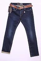 Утепленные мужские джинсы Resalsa с потертостями