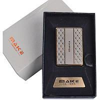 Зажигалка подарочная MAKE (спираль накаливания, USB) №4692-2