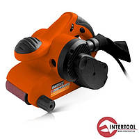 Шліфмашина стрічкова InterTool STORM (120-380 м/хв, 950Вт)