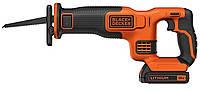 Аккумуляторная сабельная пила Black&Decker BDCR18