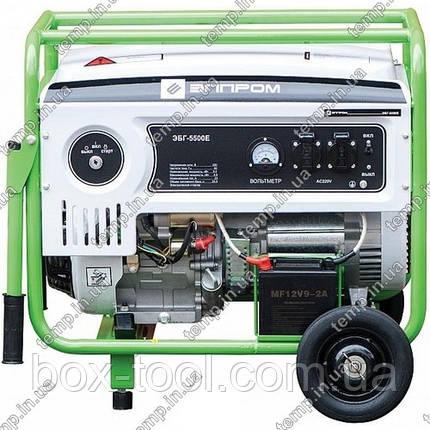Бензиновый генератор ЭЛПРОМ ЭБГ-5500Е, фото 2