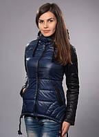 Женская куртка прямого силуэта