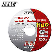 ПЛЕТЕНКА JAXON NEW CONCEPT LI.FLUO 0.12 мм, 1000 м