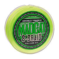 ПЛЕТЕНКА DAM MAD CAT 8-BRAID GREEN 0.70 mm 270m