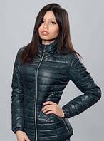 Женская куртка с длинным втачным рукавом