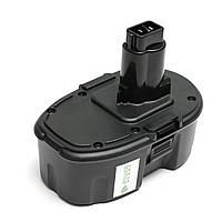 Аккумулятор PowerPlant для инструментов DeWALT GD-DE-18(A) 18V 3Ah NIMH
