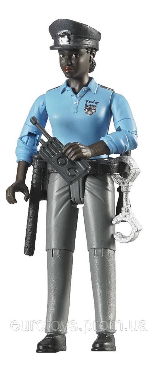 BRUDER  Фигурка женщины -  полицейского с аксессуарами  (60431)
