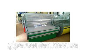 Морозильная витрина Айстермо ВХН ПАЛЬМИРА 1.2 (-8...-10°С, 1200х820х1200 мм, гнутое стекло), фото 3