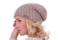 """Зимняя удлиненная шапка-колпак """"Sharm"""" с люрексом"""