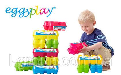 Инновационная концепция упаковки яиц Eggy play