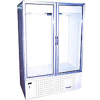 Холодильный шкаф со стеклянными дверями Айстермо ШХС-1.4 (0...+8°С, 1600х700х2000 мм)