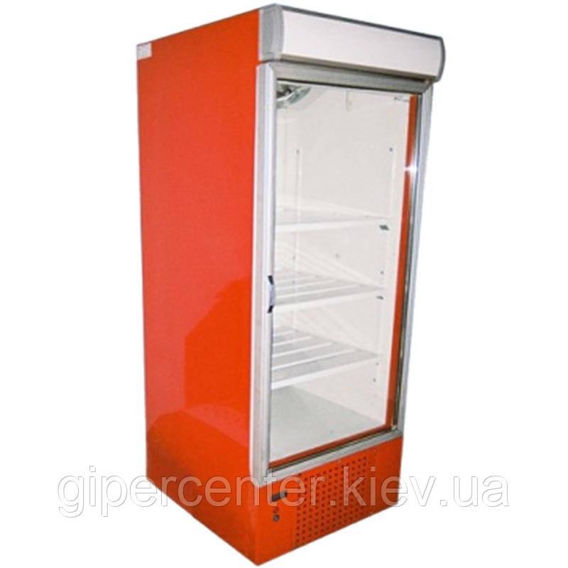 Холодильный шкаф с лайтбоксом Айстермо ШХС-0.5 (0...+8°С, 600х660х1950 мм, стеклянная дверь)