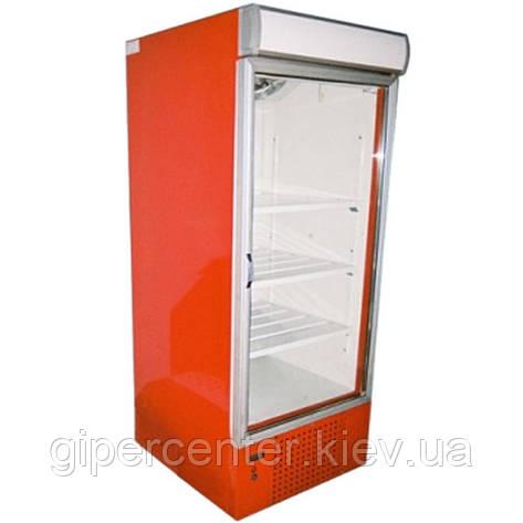 Холодильный шкаф с лайтбоксом Айстермо ШХС-0.5 (0...+8°С, 600х660х1950 мм, стеклянная дверь), фото 2