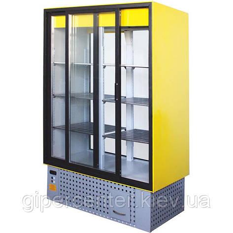 Холодильный шкаф Айстермо ШХС-1.4 (0...+8°С, 1600х700х1950 мм, раздвижные стеклянные двери), фото 2