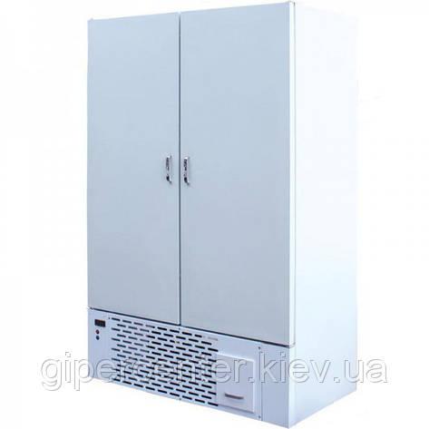 Морозильный шкаф с глухими дверями Айстермо ШХН-0.8 (-12...-15°С, 1200х670х1850 мм), фото 2