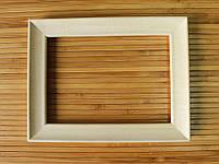 Деревянная рамка 10х10 см (липа скошенный 24 мм)