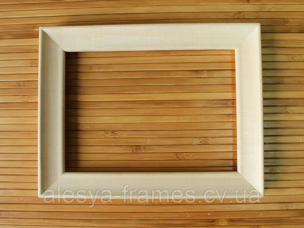 деревянная рамка 10х10 см липа скошенный 24 мм цена 29 грн