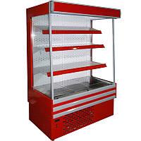 "Холодильная пристенная горка ""БРИЗ"" ГПХ 1.5 (+1…+8˚С, 1500х810х1950 мм, автооттайка)"