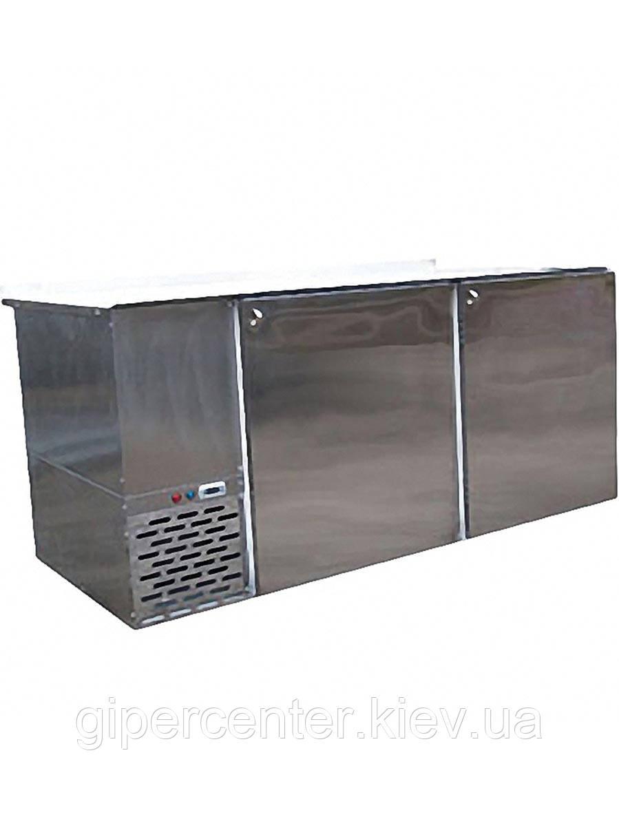 Стол с охлаждаемой поверхностью из металлопласта СО-0.8 Айстермо (0…+8˚С, 2180х640х950 мм)