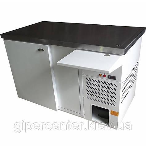 Охлаждаемый стол с охлаждаемой поверхностью из нержавеющей стали СО-0.8 Айстермо (-2…+5˚С, 1500х800х950 мм), фото 2