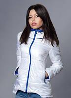 Белоснежная молодежная курточка