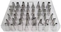 Набор насадок  для кондитерских мешков Empire ЕМ 0004, 48 штук