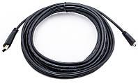 Видео кабель PowerPlant HDMI - micro HDMI, 5м. позолоченные коннекторы, v 1.3