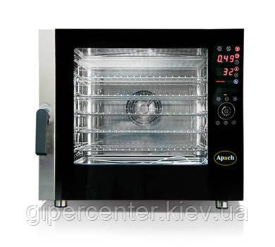 Электрические пароконвектоматы Apach A 4/6 HD на 6 уровней под пекарские противни 600х400 мм, фото 2