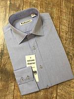 Полуприталенные рубашки с длинным рукавом