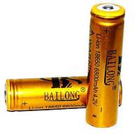 Аккумулятор литий-ионный 18650-8800mAh, золотой