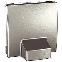Адаптер двойной для подсоединения кабеля алюминий,серия Unica,Schneider