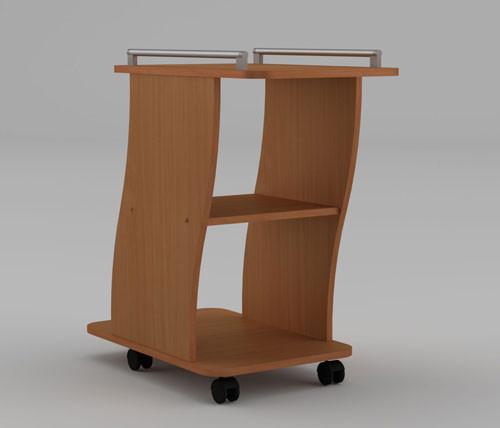 Стол журнальный с полочкой «Вена» от мебельной фабрики Компанит