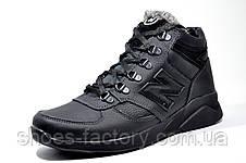 Мужские зимние ботинки в стиле New Balance кожаные, фото 2