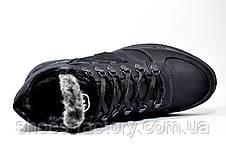 Мужские зимние ботинки в стиле New Balance кожаные, фото 3