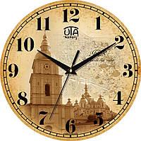 Годинник настінний ЮТА History 330Х330Х30мм  01 HK