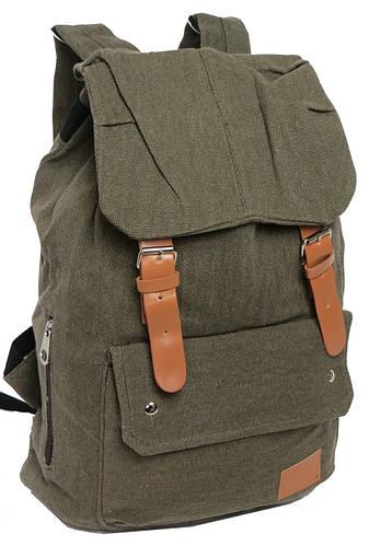 Молодежный городской рюкзак, 18 л. URBAN 0311-3, хаки