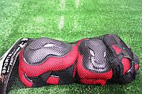 Защита для роликов Protection L красно-черная