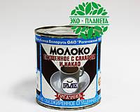 """Сгущенное молоко с какао """"РОГАЧЕВ"""". ж/б 380г; Беларусь"""