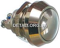 Кнопка антивандальная d18mm резьба 12mm h17mm 2 контакта под винт