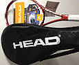 Легкий черный чехол для ракетки 288050 Tennis Full Size Coverbag HEAD , фото 2