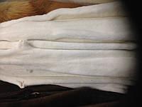 Мех шкуры норка белая отбеленная длина 65 см