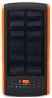 Универсальная солнечная мобильная батарея Power Bank  PowerPlant / PB-S12000 / 12000mAh