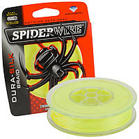 ПЛЕТЕНКА SPIDERWIRE DURA SILK YELLOW 0.12mm137m