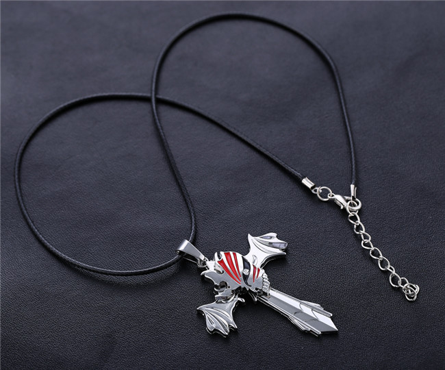 Кулон  Блич Bleach Ichigo крылья-меч