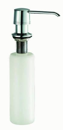 Дозатор жидкого моющего средства BLUE WATER - CHROM, фото 2