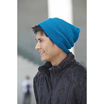 Трикотажная шапка длинный крой mb7955