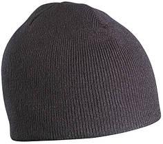 Классическая Шапка № 1 цвет чёрный mb7580