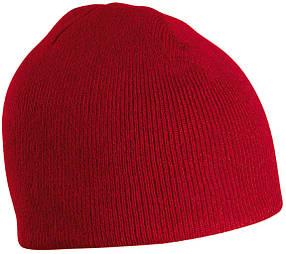 Классическая Шапка № 1 цвет бордовый mb7580